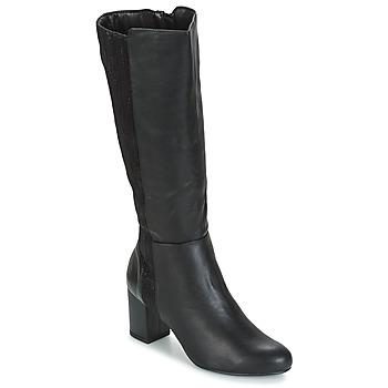 Topánky Ženy Čižmy do mesta Moony Mood GINA Čierna