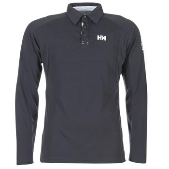 Oblečenie Muži Polokošele s dlhým rukávom Helly Hansen HP SHORE Námornícka modrá
