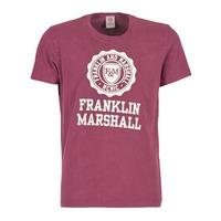 Oblečenie Muži Tričká s krátkym rukávom Franklin & Marshall GRAVI Bordová