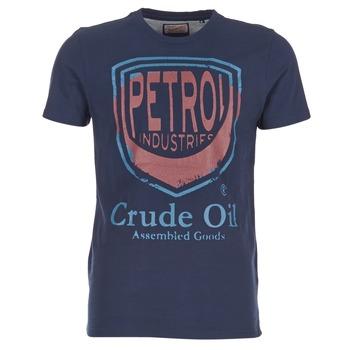 Oblečenie Muži Tričká s krátkym rukávom Petrol Industries TIRCO Námornícka modrá
