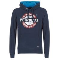 Oblečenie Muži Mikiny Petrol Industries JACAR Námornícka modrá