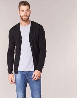 Oblečenie Muži Cardigany Benetton MELODY Čierna