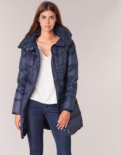 Oblečenie Ženy Páperové bundy Benetton MOSTE Námornícka modrá