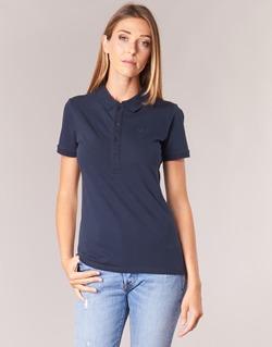 Oblečenie Ženy Polokošele s krátkym rukávom Benetton MAJOU Námornícka modrá