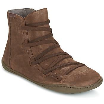 Topánky Ženy Polokozačky Camper PEU CAMI Hnedá
