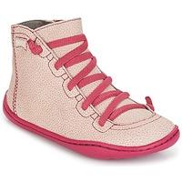 Topánky Dievčatá Členkové tenisky Camper PEU CAMI Ružová