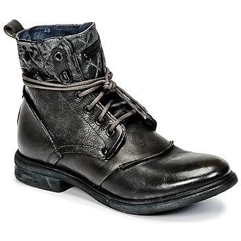Topánky Muži Polokozačky Bunker BONO šedá