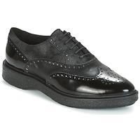 Topánky Ženy Derbie Geox D PRESTYN Čierna