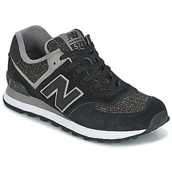 Topánky Ženy Nízke tenisky New Balance WL574 čierna