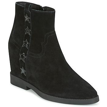 Topánky Ženy Polokozačky Ash GOLDIE Čierna