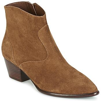 Topánky Ženy Čižmičky Ash HEIDI BIS ťavia hnedá