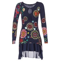 Oblečenie Ženy Krátke šaty Desigual GRUFI Modrá