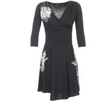 Oblečenie Ženy Krátke šaty Desigual GRAFU Čierna