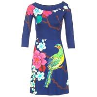 Oblečenie Ženy Krátke šaty Desigual MARTA Modrá