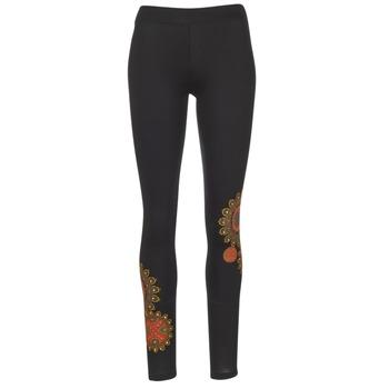 Oblečenie Ženy Legíny Desigual JULEF čierna