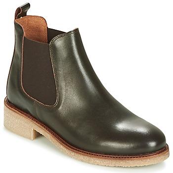 Topánky Ženy Polokozačky Bensimon BOOTS CREPE Hnedá