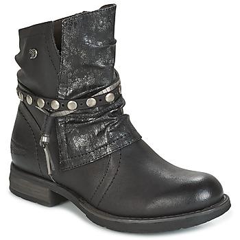 Topánky Ženy Polokozačky Tom Tailor RESTOUNE čierna