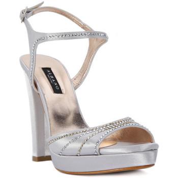 Topánky Ženy Sandále Albano RASO ARGENTO Grigio
