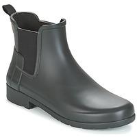 Topánky Ženy Polokozačky Hunter ORIGINAL REFINED CHELSEA Čierna