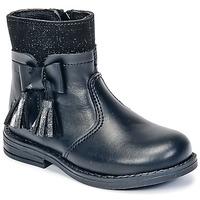 Topánky Dievčatá Polokozačky Citrouille et Compagnie HEYLI Čierna