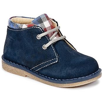 Topánky Chlapci Polokozačky Citrouille et Compagnie HEYLI Námornícka modrá