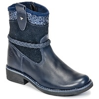 Topánky Dievčatá Polokozačky Citrouille et Compagnie HAYO Modrá