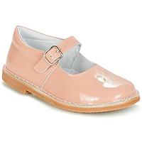 Topánky Dievčatá Balerínky a babies Citrouille et Compagnie HIVETTE Ružová
