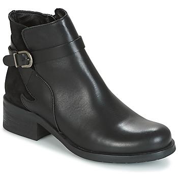 Topánky Ženy Polokozačky Betty London HARRIS Čierna