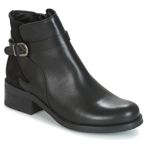 Topánky Ženy Čižmičky Betty London HARRIS Čierna