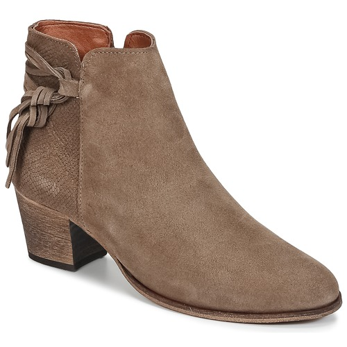 Topánky Ženy Čižmičky Betty London HEIDI Hnedošedá