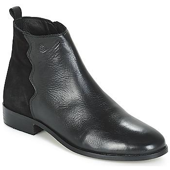 Topánky Ženy Polokozačky Betty London HELOI Čierna