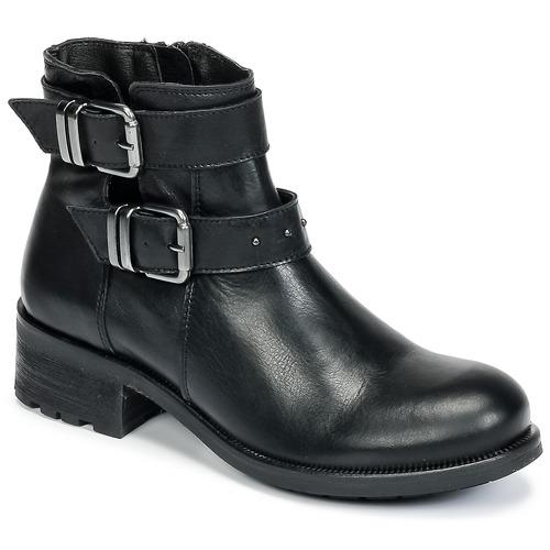 Topánky Ženy Polokozačky Betty London HELIDI Čierna