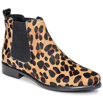 Topánky Ženy Polokozačky Betty London HUGUETTE Leopard