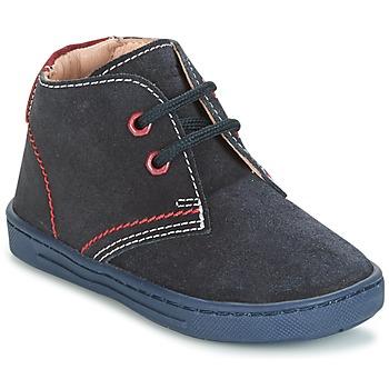Topánky Chlapci Polokozačky Chicco COBIN Námornícka modrá