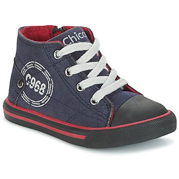 Topánky Chlapci Členkové tenisky Chicco CRITTER Námornícka modrá / čierna / červená