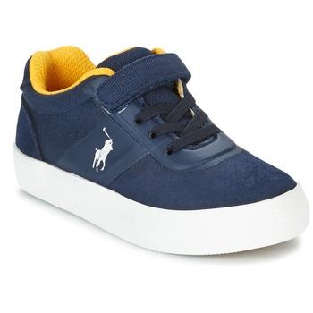 Topánky Deti Nízke tenisky Polo Ralph Lauren HANFORD HM EZ Námornícka modrá