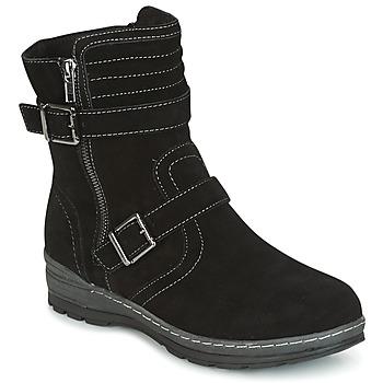 Topánky Ženy Polokozačky Wildflower MYRNA čierna