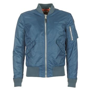 Oblečenie Muži Bundy  Schott BOMBER BY SCHOTT Modrá