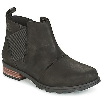 Topánky Ženy Obuv do snehu Sorel EMELIE CHELSEA Čierna