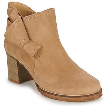 Topánky Ženy Čižmičky Casual Attitude HIRCHE Béžová