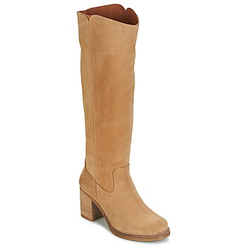 Topánky Ženy Čižmy do mesta Casual Attitude HAPI Béžová