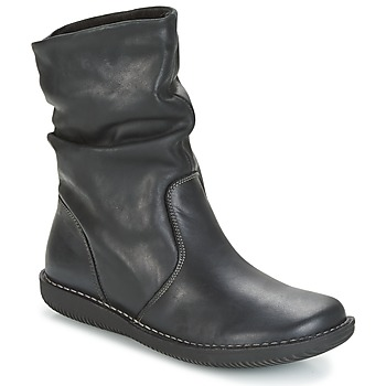 Topánky Ženy Polokozačky Casual Attitude FILL Čierna