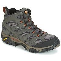 Topánky Muži Turistická obuv Merrell MOAB 2 MID GTX šedá