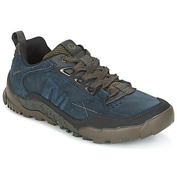 Topánky Muži Turistická obuv Merrell ANNEX TRAK LOW Modrá