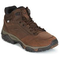 Topánky Muži Turistická obuv Merrell MOAB VENTURE MID WTPF Hnedá