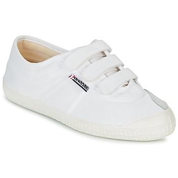 Topánky Nízke tenisky Kawasaki BASIC VELCRO Biela