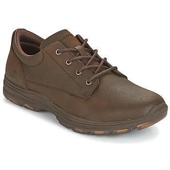 Topánky Muži Nízke tenisky Skechers MENS USA Hnedá