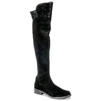 Topánky Ženy Vysoké čižmy Buffalo NUPAN Čierna