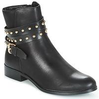 Topánky Ženy Polokozačky Buffalo NIPATE čierna