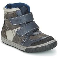 Topánky Chlapci Snehule  Kickers SITROUILLE Šedá / Modrá